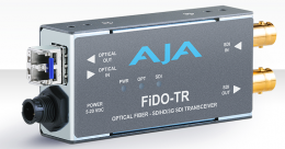 AJA FiDO-TR SD/HD/3G SDI / Optical Fiber Transceiver