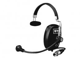 Clear-Com Single Ear Economy Headset, 4 pin XLR