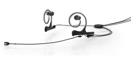 DPA FIDB00-2-IE2-B, d:fine In-Ear Broadcast Headset, Black, 120mm