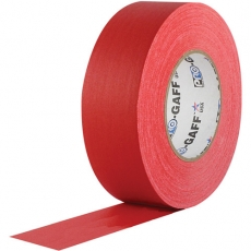"Visual Departures Professional Gaffer Tape, 2"" x 55 Yards, Red"