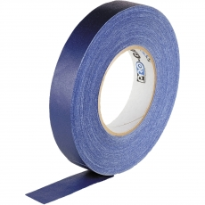 "Visual Departures Professional Gaffer Tape, 1"" x 55 Yards, Blue"