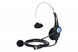 ClearCom CC-26 Single Ear Lightweight Headset, A4F