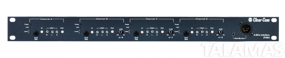 Clearcom Encore 4 channel  3/4 wire 1 RU camera interface